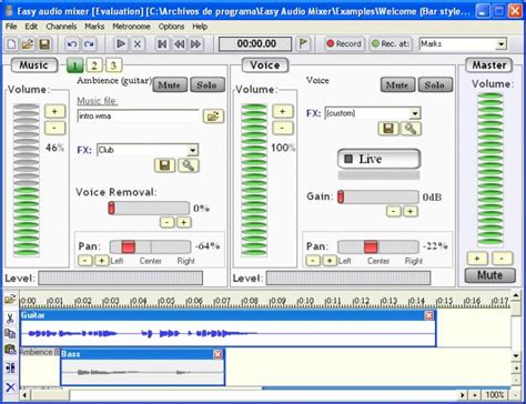 download mp3 cutter and mixer software easy audio mixer download