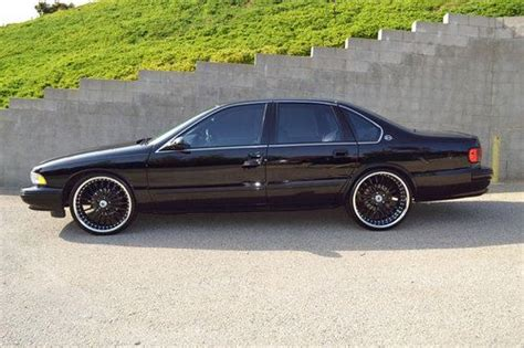 96 impala ss wheels for sale sell used 1996 impala ss low mile asanti wheels
