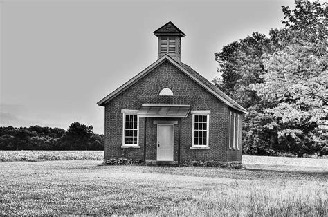 one room schoolhouse for sale brick one room school house photograph brick one room school house print