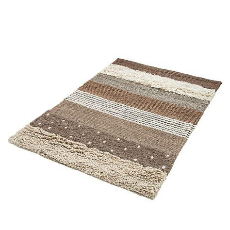 teppich baumwolle teppich braun gestreift baumwolle filz 2 gr 246 223 en l 228 ufer