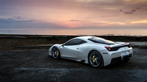 cars white 458 white hd cars 4k wallpapers images