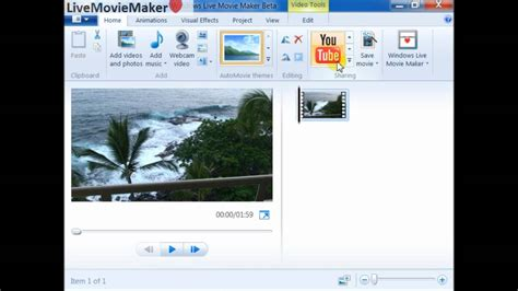 windows movie maker tutorial video youtube windows live movie maker tutorial 5 upload 720p 1080p hd