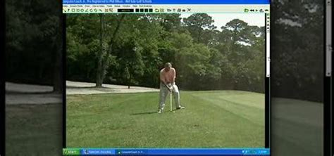 hitting or swinging golf how to hit an uneven lie with a proper swing 171 golf