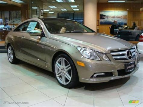 2010 pearl beige metallic mercedes e 350 coupe 22195777 gtcarlot car color galleries