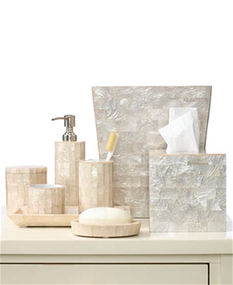 roselli trading company bath accessories of pearl