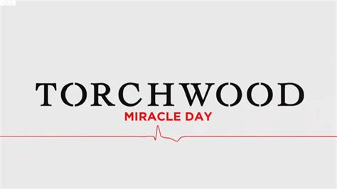 Miracle Day Torchwood Miracle Day