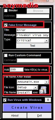 cara membuat virus yang merusak sistem cara mudah membuat virus menggunakan software terabyte