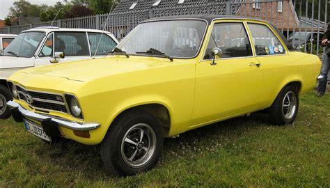 Opel Ascona by Opel Ascona A