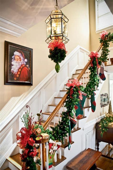 ideas navidad decorar las escaleras para navidad