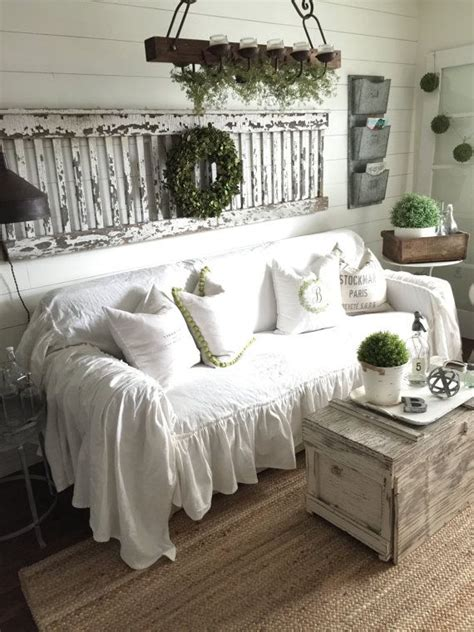 shabby chic slipcovers for sofas 25 best ideas about slip covers on