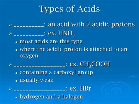Acidic Protons by 14 1 Intro To Acids And Bases 14 2 Acid Strength 14 3 Ph
