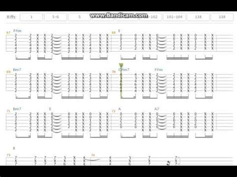 Tutorial Guitar Depapepe One | depapepe start tab tokuoka yoshinari 2nd guitar youtube
