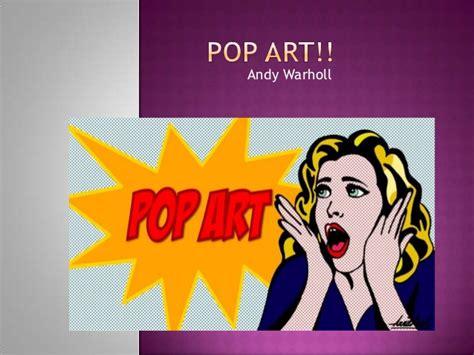 Pop Art Powerpoint Pop Powerpoint