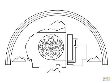 native american flag coloring page navajo nation flag coloring page free printable coloring