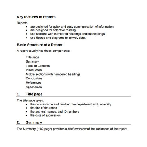 engineering report template sle engineering report 14 documents in pdf