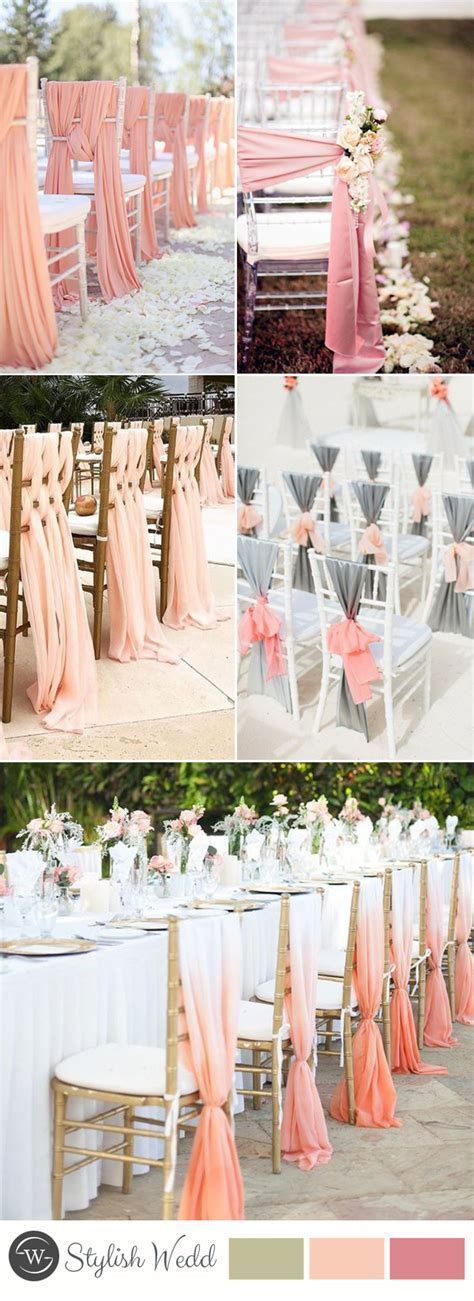 50  Great Ways to Decorate Your Weddding Chair ? Stylish