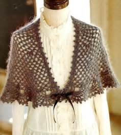 Stylish easy crochet crochet lace shawl cape