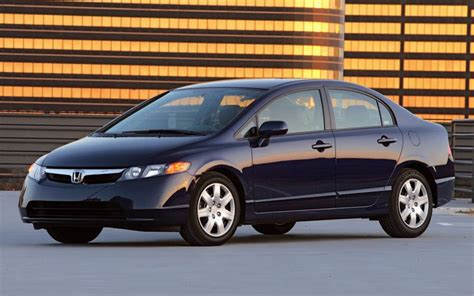2007 honda civic vs 2007 hyundai elantra vs 2007 mitsubishi lancer vs 2007 nissan sentra