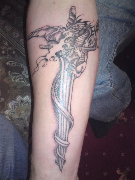 crossed swords tattoo picture collection sword tattoos
