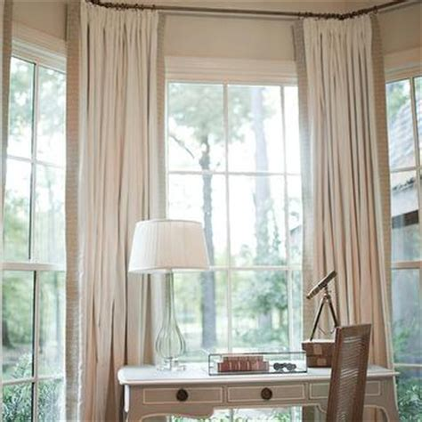curtains for small bay windows bay window curtains design ideas
