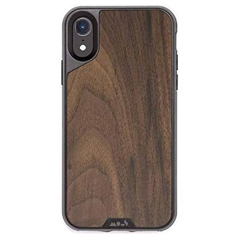 iphone xr airoshock protective from mous walnut