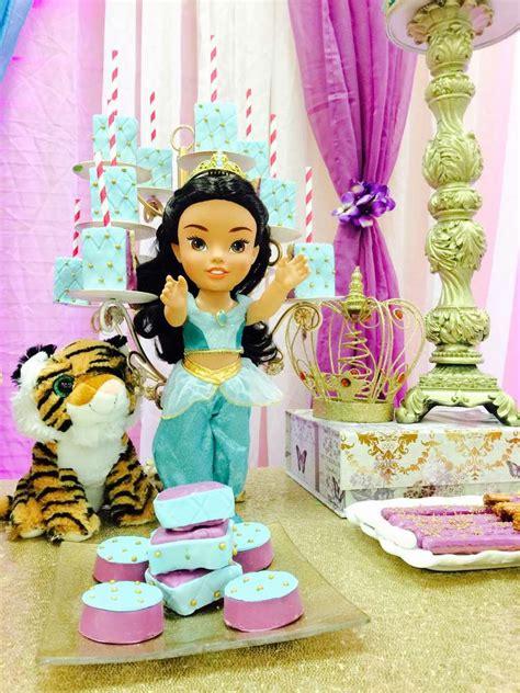 jasmine themed birthday party princess jasmine aladdin baby shower party ideas photo