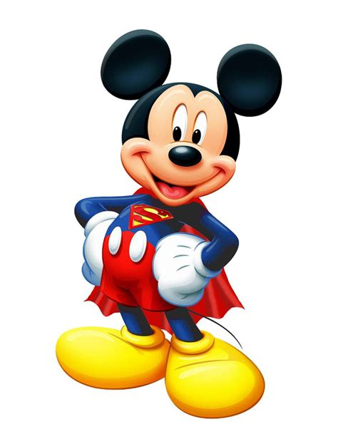 Surpet Mickey Mouse mickey mouse superman heros disney charts and pictures