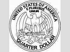 Quarter Black And White Clipart - Clipart Suggest Quarter Clipart