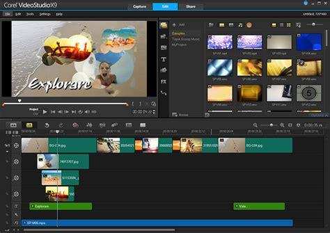 corel studio templates editing software by corel videostudio ultimate x9 5