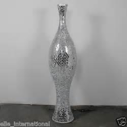 Silver Floor Vase Silver Floor Vase 034 Data 034 Mosaic 4 8 039