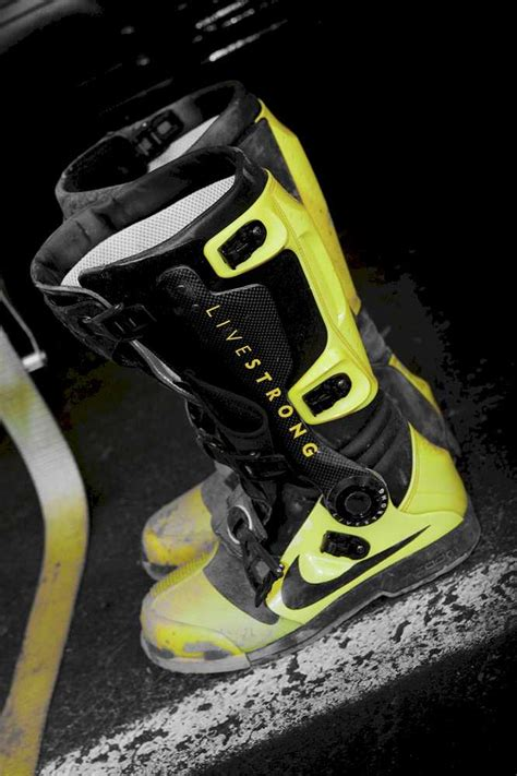 nike motocross gear fyi pic of dungey s livestrong nike boots moto related