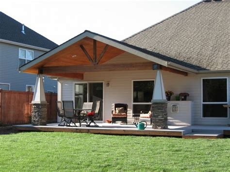 roof deck design gable roof patio cover design gable roof