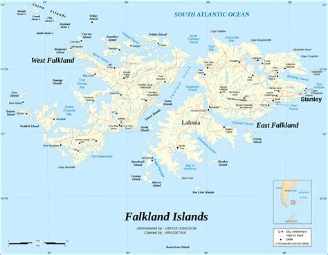 map of the falkland islands file falkland islands map shaded relief en svg