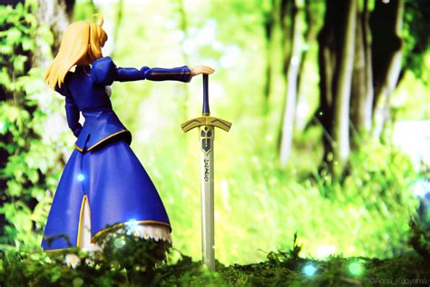 Figma Ex 025 Saber Dress Ver Unlimited Blade Works By Max Factory Kws saber excalibur 3 myfigurecollection net