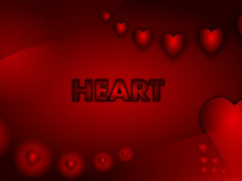 valentine heart wallpaper backgrounds presnetation ppt