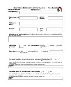 safety certificate template safety certificate template 8 free word pdf document