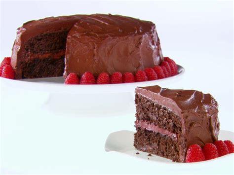 chocolate raspberry recipes chocolate raspberry layer cake recipe giada de