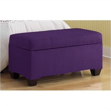 purple storage bench painting upholstered furniture painting upholstered