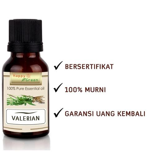 Happy Green Minyak Buchu 10 Ml Buchu Essential happy green valerian essential minyak valerian