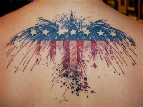 american flag eagle tattoo 85 best patriotic american flag tattoos i usa 2018