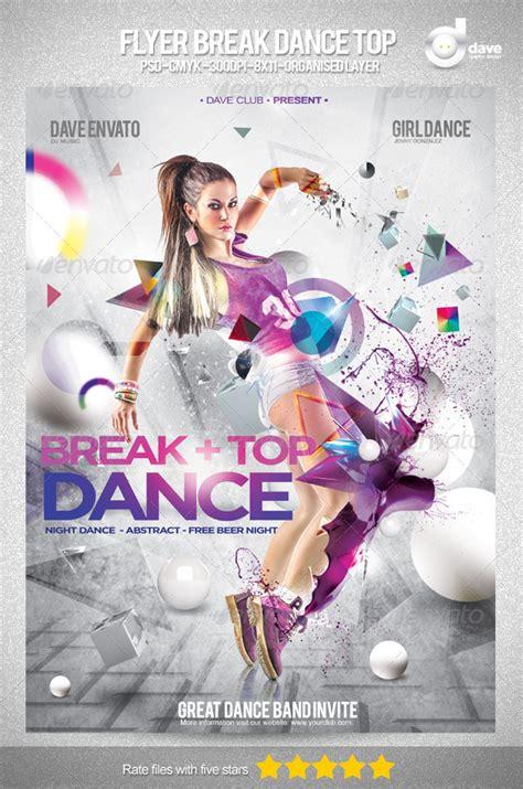 tutorial dance river graphicriver break dance flyer v3 187 tinkytyler org stock