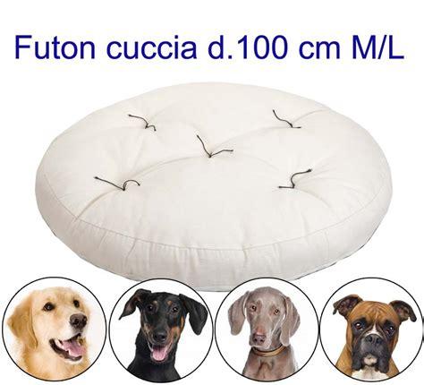 materasso per cani materasso per cani rotondo futon h 10cm arredo e corredo