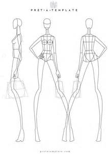 Fashion Sketch Template by Figure Fashion Template D I Y Your Own Fashion