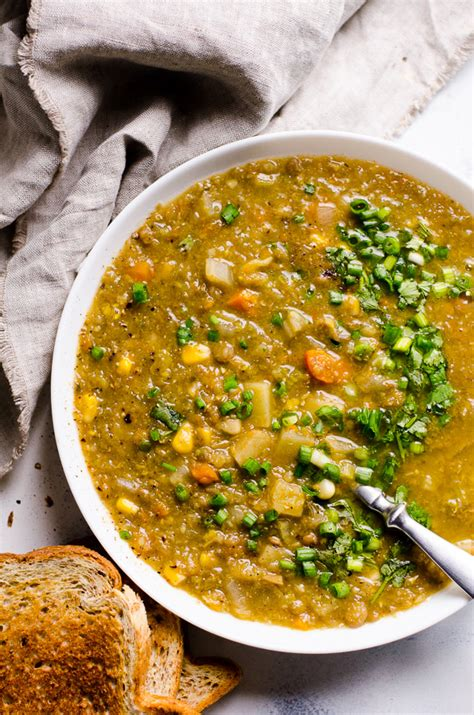 vegan soup recipes for cookers cooker vegetarian lentil soup ifoodreal healthy