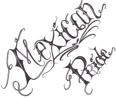 mexican pride lettering by chsicka on deviantart
