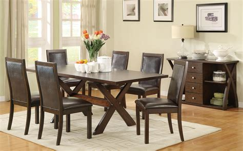 Furniture Expo Outlet by Dobson Collection 7 Pc Dining Set Coaster Furniture Expo