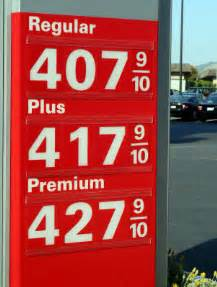 Gas Prices Gasoline Prices