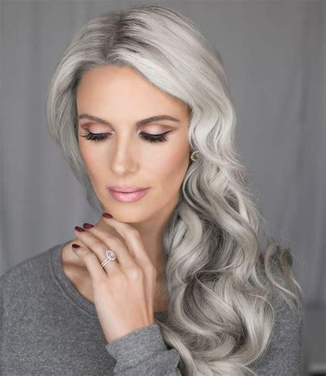 gray hair popular now 93 best makeup by vivian makeup artist images on pinterest