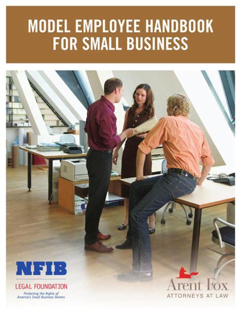 employee handbook template for small business employee handbook template for excel pdf and word