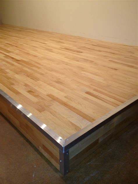 Stage Wood Flooring by Small Church Wood Stage Our Projects Portfolio